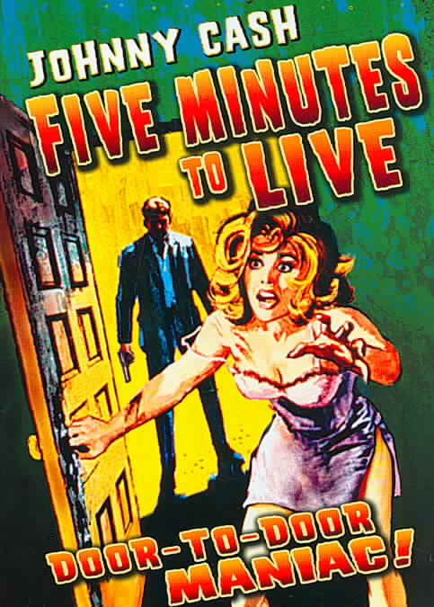 5 MINUTES TO LIVE BY CASH,JOHNNY (DVD)